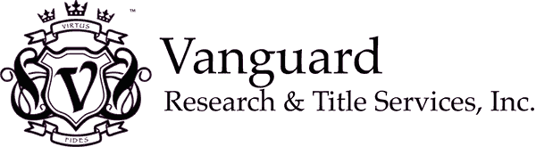 Vanguard Research & Title Services, Inc. Logo